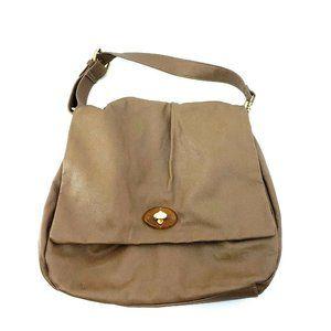 Mark by Avon Womens Beige Faux Leather Handbag